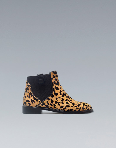 Przegląd botków Zara jesień 2012