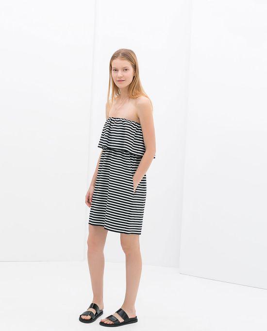 Sukienki w nowościach Zara TRF (FOTO)
