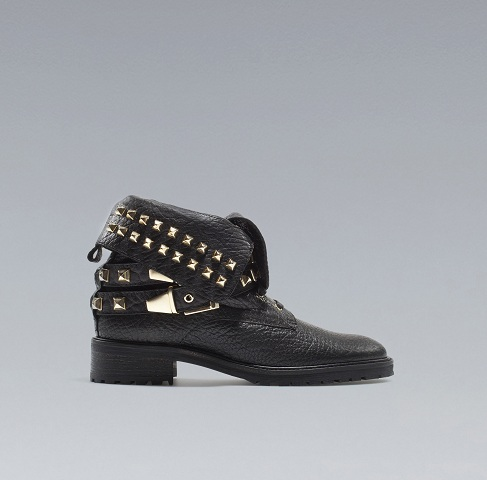 Najmodniejsze czarno-złote buty