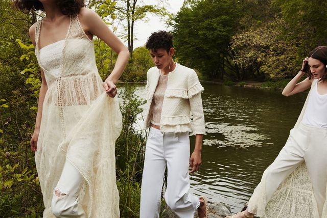Zara White - Kolekcja na lato 2016 cała w bieli