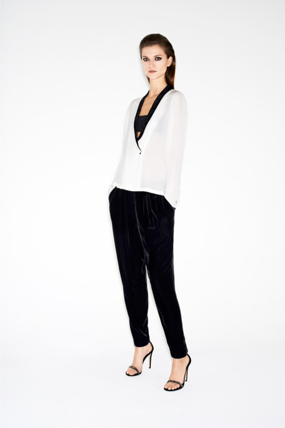 Kasia Struss w lookbooku kolekcji Zara Twelve