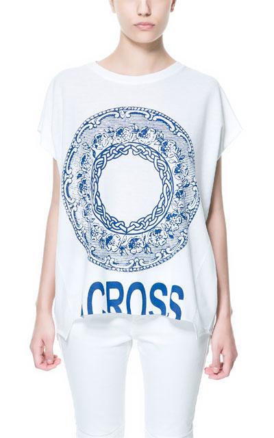 Zara - przegląd koszulek z nadrukami