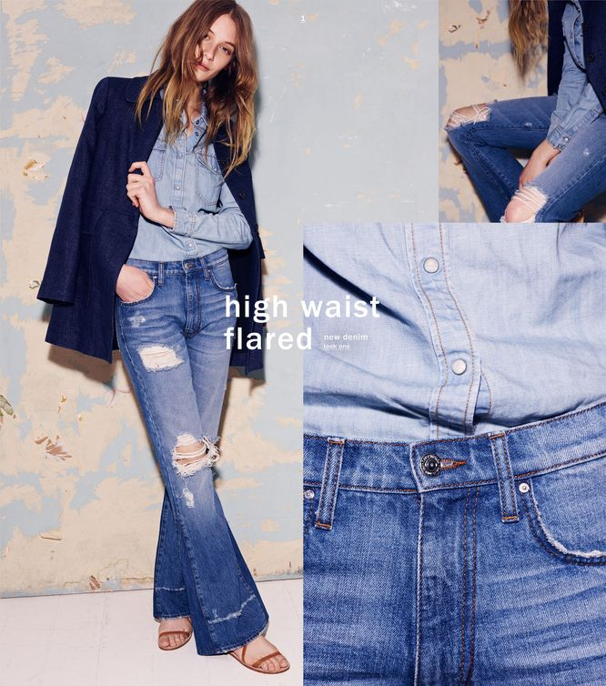 Zara Trends Denim - Nowy katalog z jeansowymi propozycjami