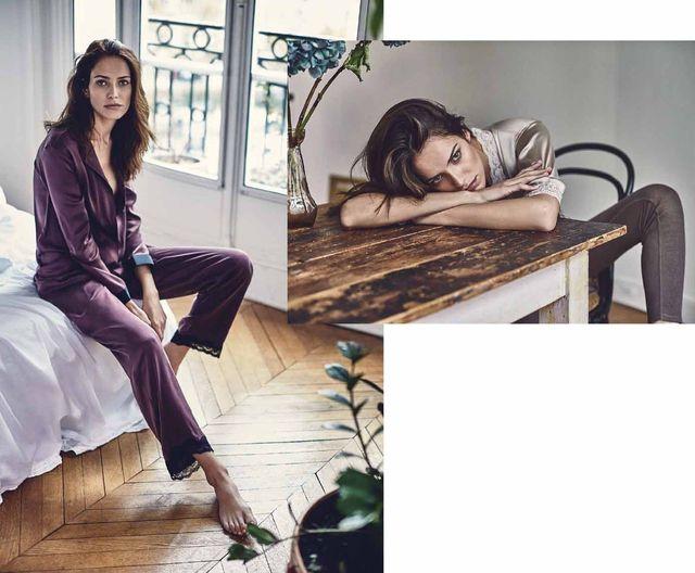 Zara Home - Zmysłowa bieliźniana kolekcja na jesień i zimę