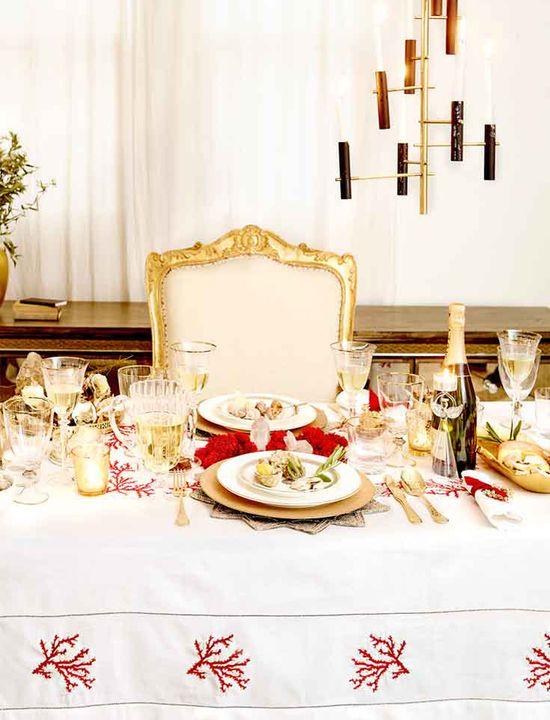 Zara Home White & Gold - Świateczny wystórj w bieli i złocie
