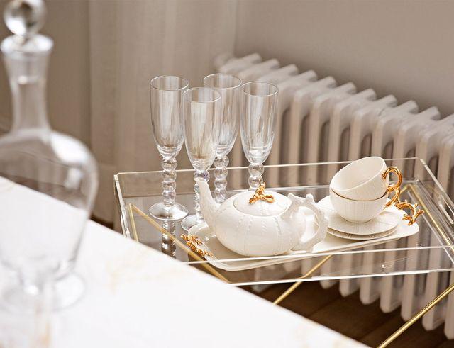 Zara Home White & Gold - Jesień 2016 w bieli i złocie w wystroju wnęrz
