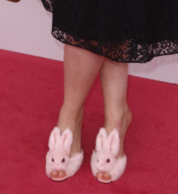 Tylko ona mogła sobie pozwolić na takie buty (FOTO)