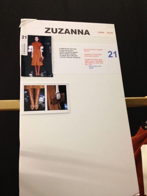 Anja Rubik i Zuzia Bijoch na pokazie Gucci (FOTO)