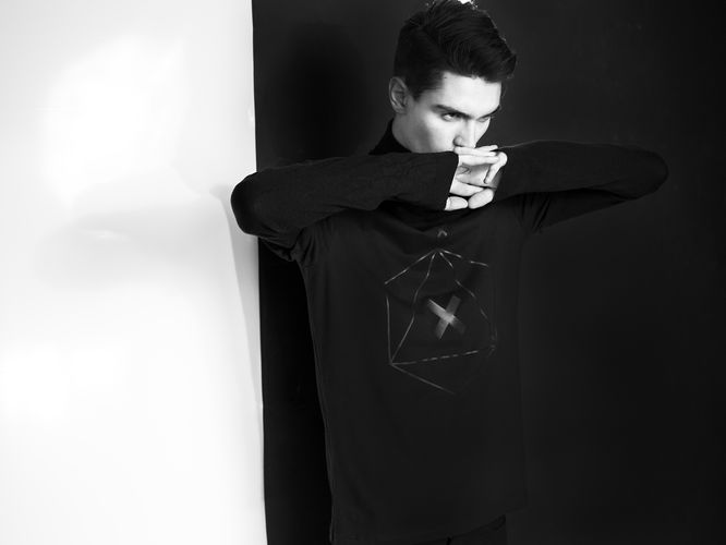 black apparel