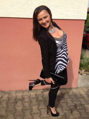 Konkursowa stylizacja - Kasia