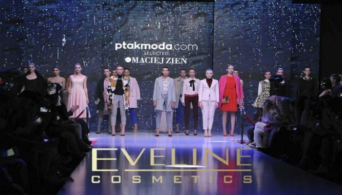 eveline cosmetics kosmetyki do makijażu pokaz mody