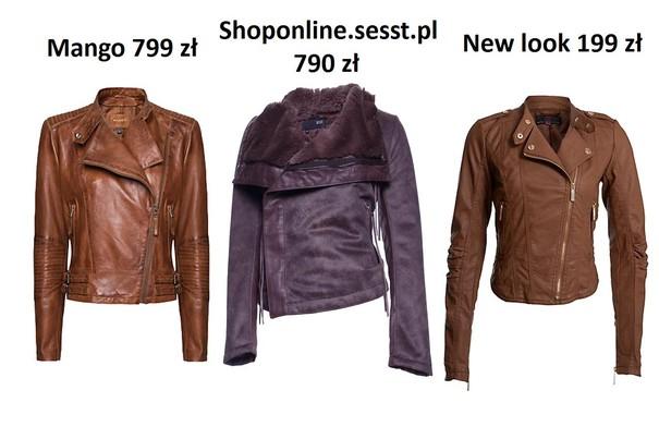Propozycje kurtek skórzanych na jesień 2012
