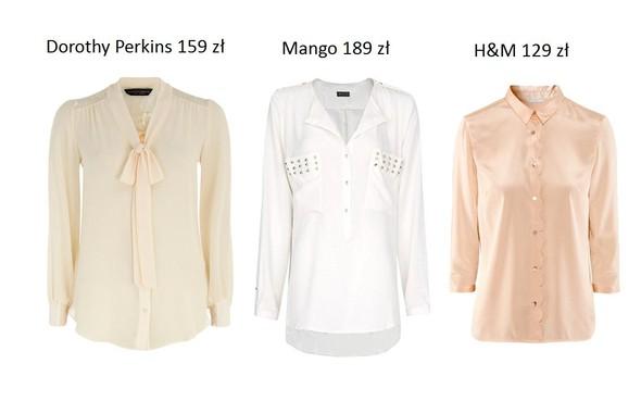 Przegląd koszul na sezon jesień-zima 2012/2013