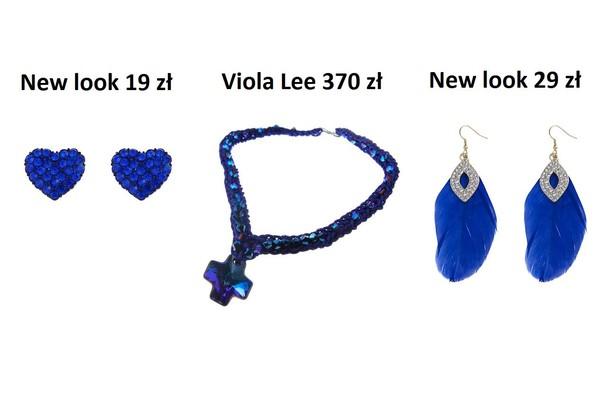 Przegląd ubrań w kobaltowym kolorze