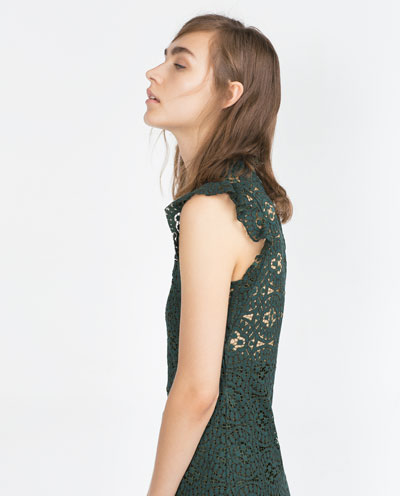 Ubrania i dodatki w kolorze zielonym - przegląd (FOTO)
