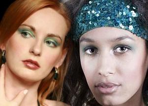 Zieleń - kolor sezonu - w makijażu