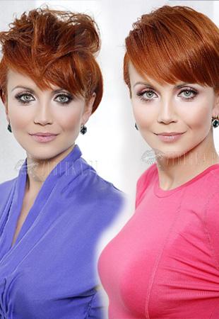 Katarzyna Zielińska - jedno cięcie, wiele fryzur