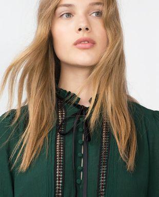 ubrania i dodatki w kolorze zielonym