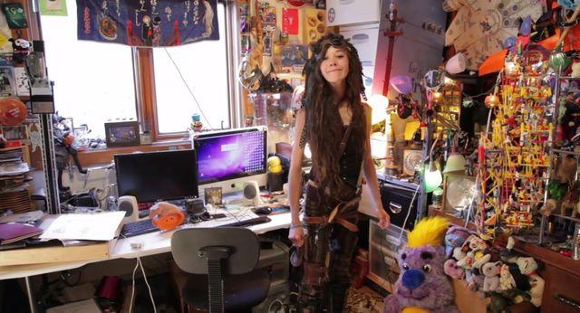 Oto steampunkowa artystka - Zina Nicole Lahr (VIDEO)