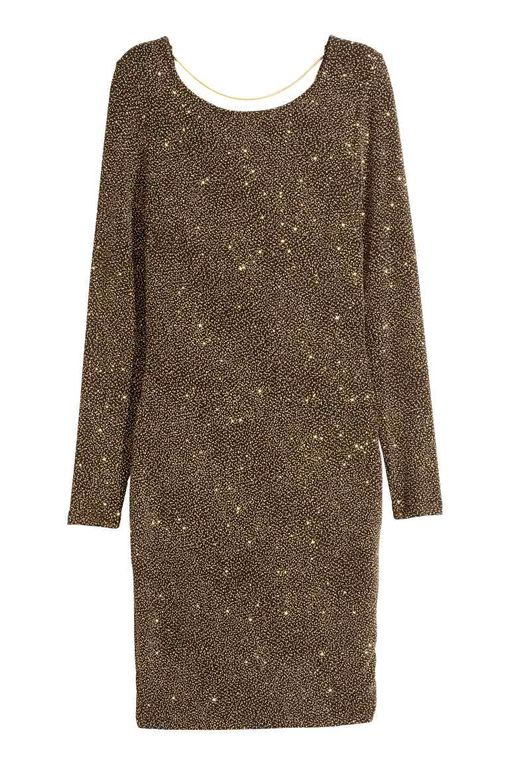 Złota sukienka - przegląd (FOTO)