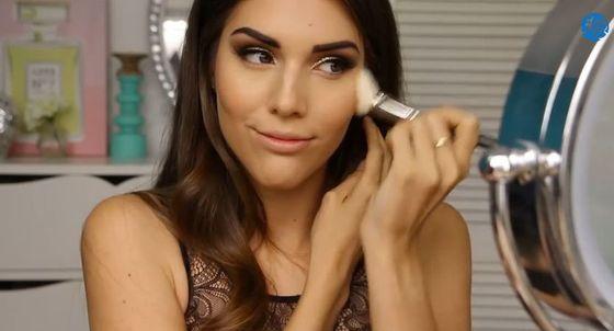 Makijaż na Sylwestra w odcieniach złota (VIDEO)