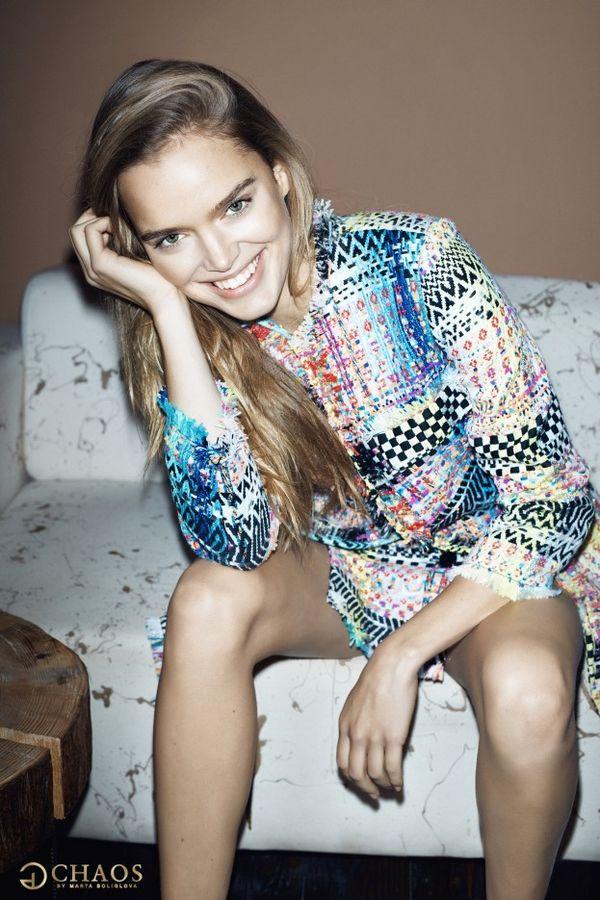 Zosia Nowak - modelka Victoria's Secret w kampanii Chaos