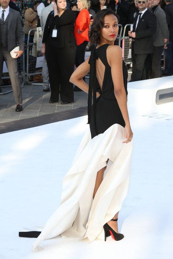 Zoe Saldana w Vionnet