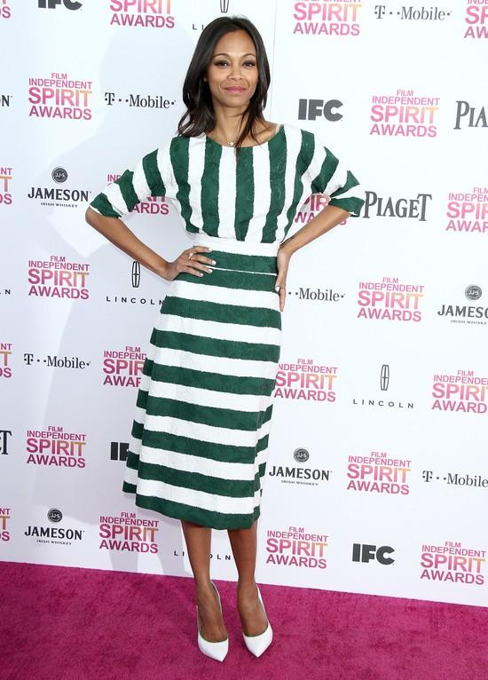Zoe Saldana w Dolce&Gabbana (FOTO)