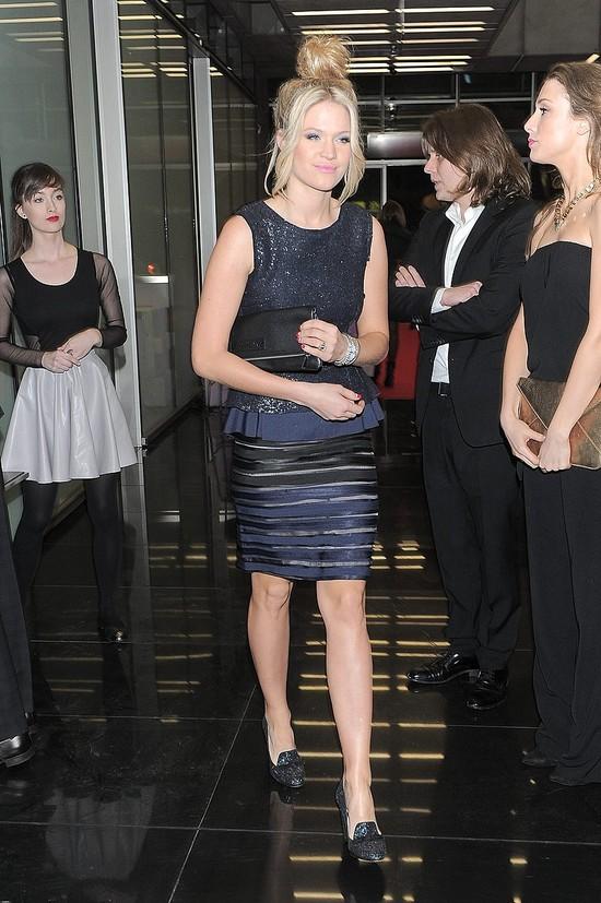 Zosia Ślotała w sukience z baskinką