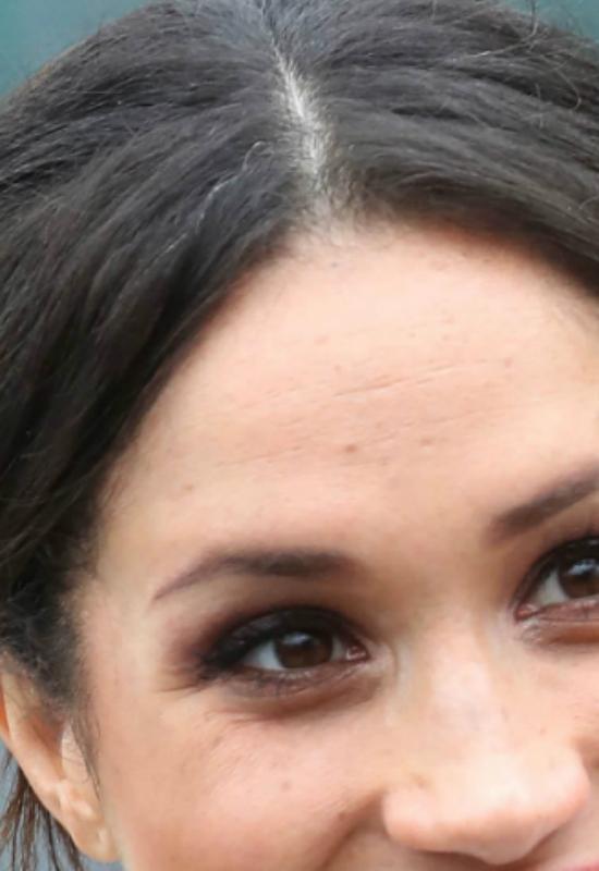Meghan Markle pokazała siwe włosy!