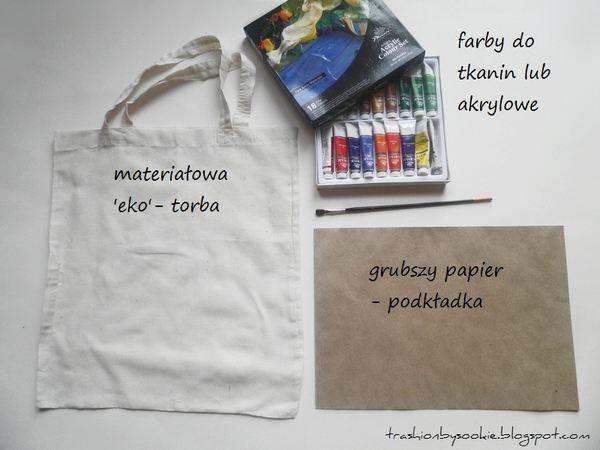 Zrób to sama: torba z printem