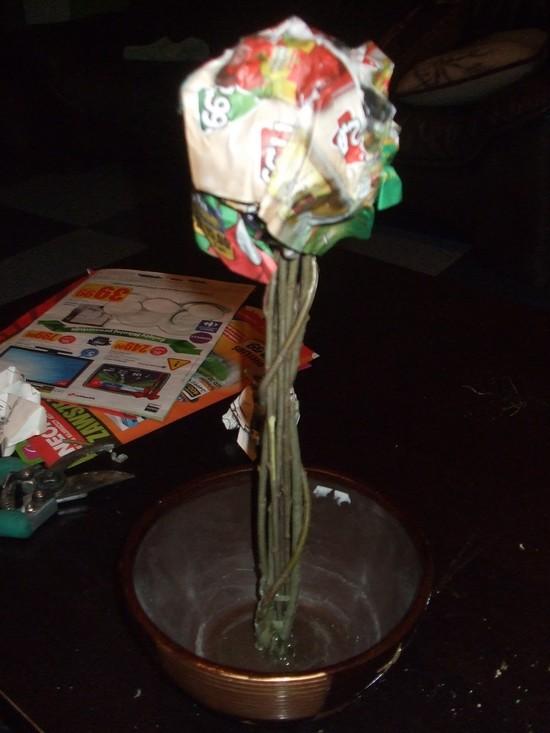 Zrób to sama: drzewko z szyszek