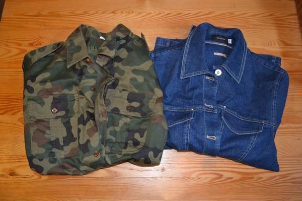 Zrób to sama: koszula moro-jeans