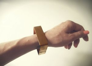 Zrób to sama: złota bransoleta (FOTO)