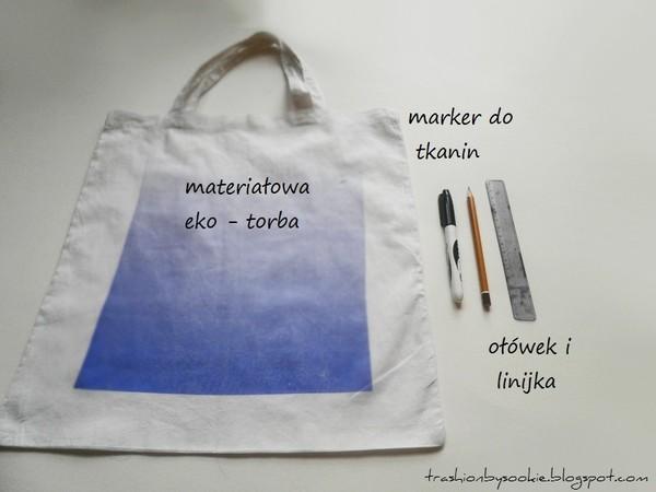 Zrób to sama: eko-torba z napisem