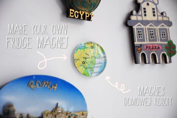 Zrób to sama: magnes na lodówkę