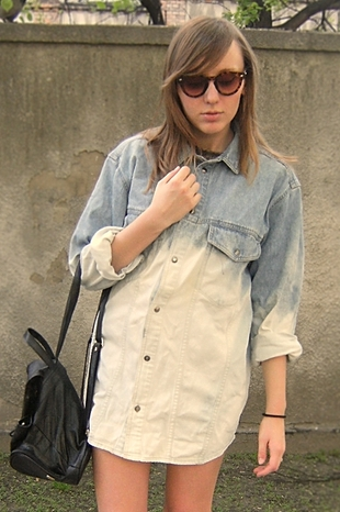 Zrób to sama: koszula Ombre (FOTO)