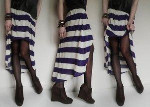 Zrób to sama: asymetryczna spódnica