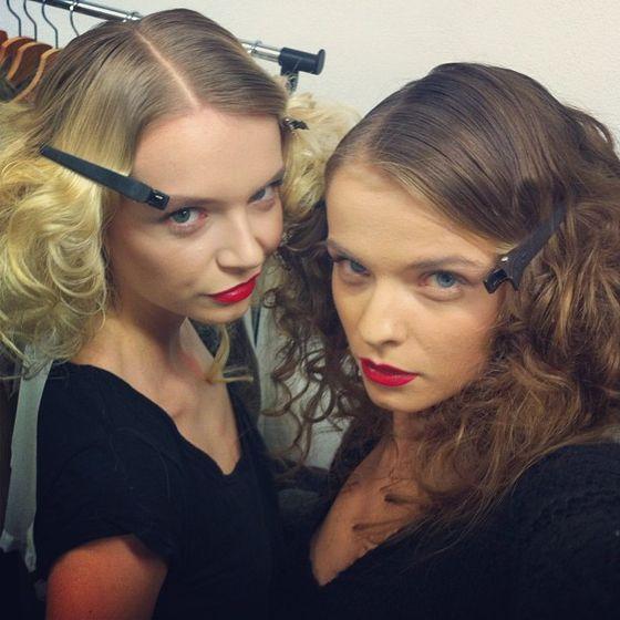 Dziewczyny z Top Model za kulisami ostatnich pokazów (FOTO)
