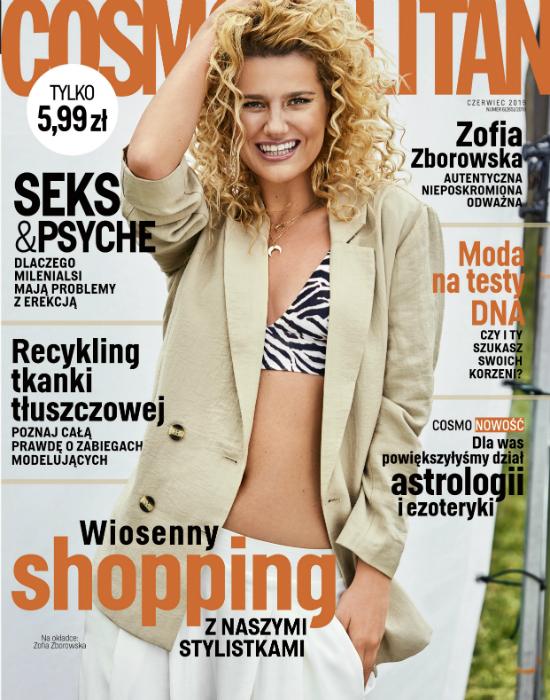 Zeberka w Cosmopolitan: Daj odpocząć swojej skórze: nowa pielęgnacja skip care