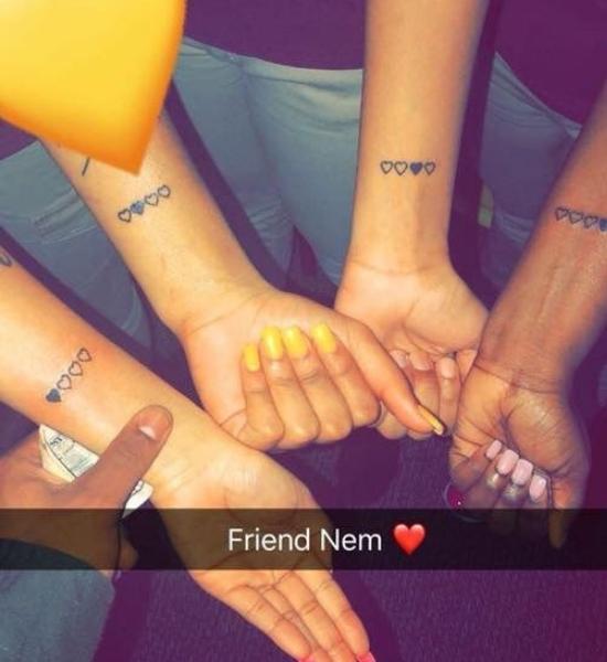 śliczne Tatuaże Dla Przyjaciółek Cała Masa Modnych