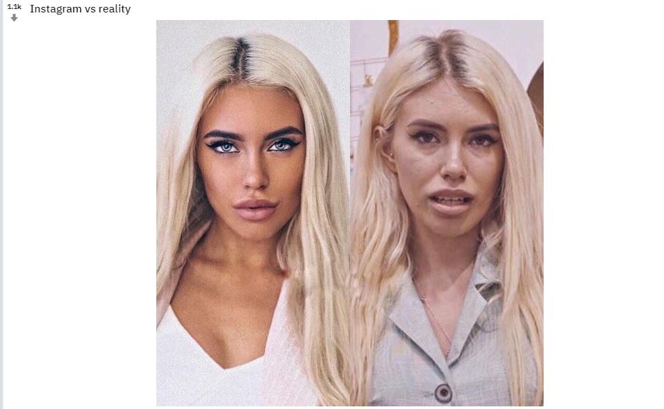 Nie wierz w to, co pokazują na Instagramie. Ujawniono, jak wyglądają naprawdę