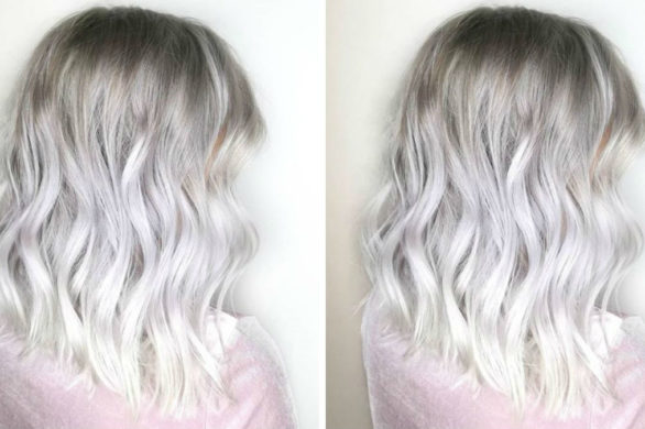 Siwe Włosy Zeberka
