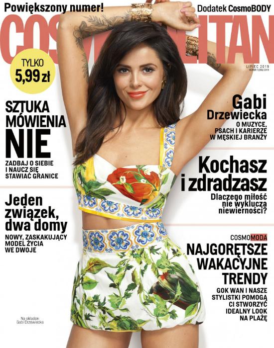 Zeberka w Cosmopolitan: O nie.