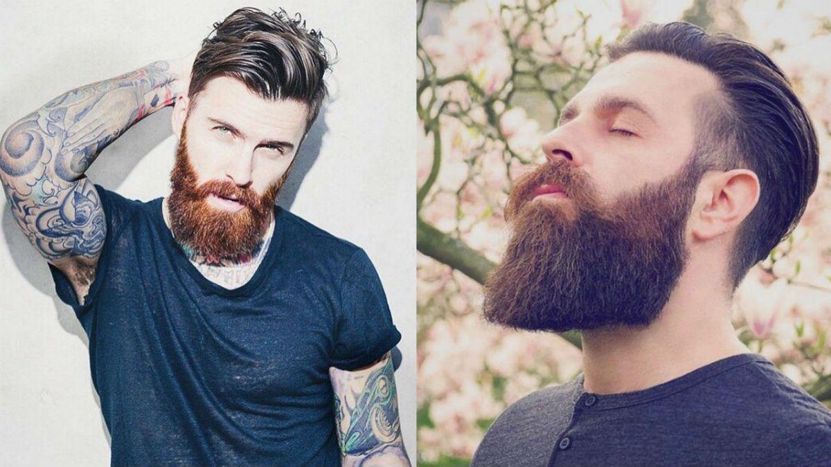 Dlaczego niektórzy mężczyźni mają rude brody, mimo że mają ciemne włosy?