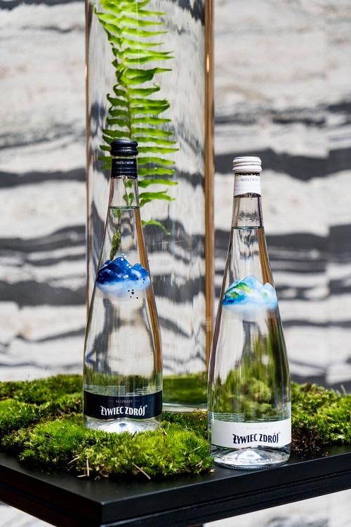 NOWOŚĆ: Żywiec Zdrój w szklanych butelkach Arcydzieło natury zamknięte w przepię