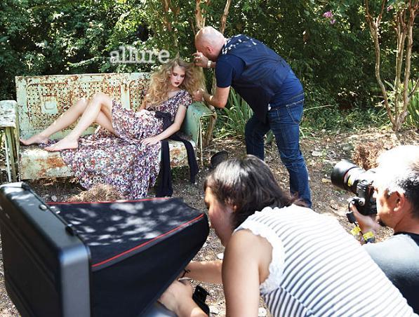 Taylor Swift w magazynie Allure