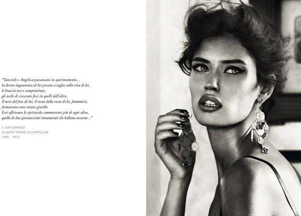 Bianca Balti dla Dolce & Gabbana