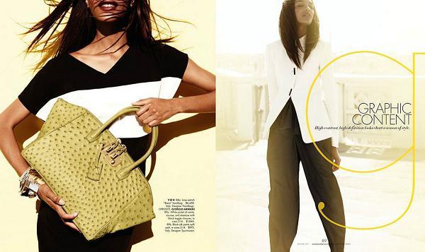 Jourdan Dunn w katalogu Neiman Marcus