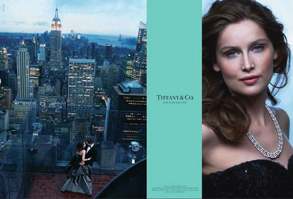Laetitia Casta dla Tiffany & Co